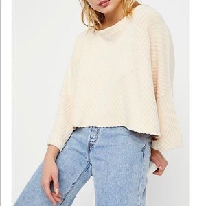 Free People I can't wait sweater M NWT